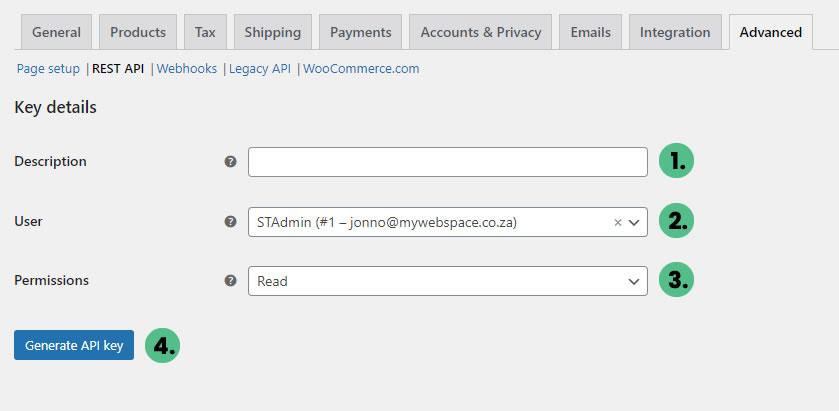 WooCommerce Rest API - Client Resources
